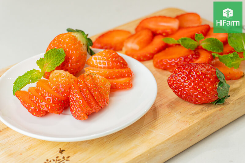 Ăn dâu tây có giảm cân không