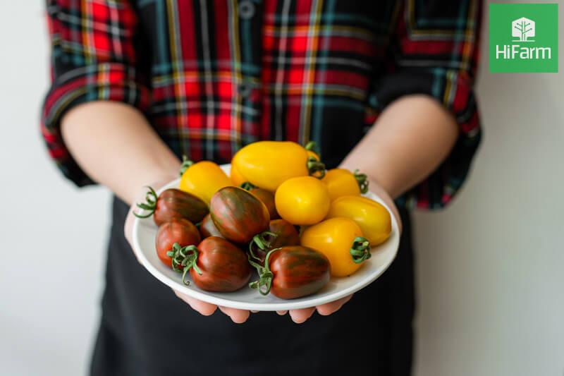 chế biến cà chua sống