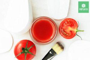 đắp mặt bằng cà chua