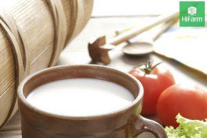 mặt nạ cà chua và sữa chua không đường
