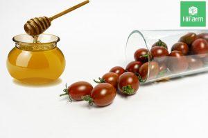 nạ cà chua mật ong trắng da
