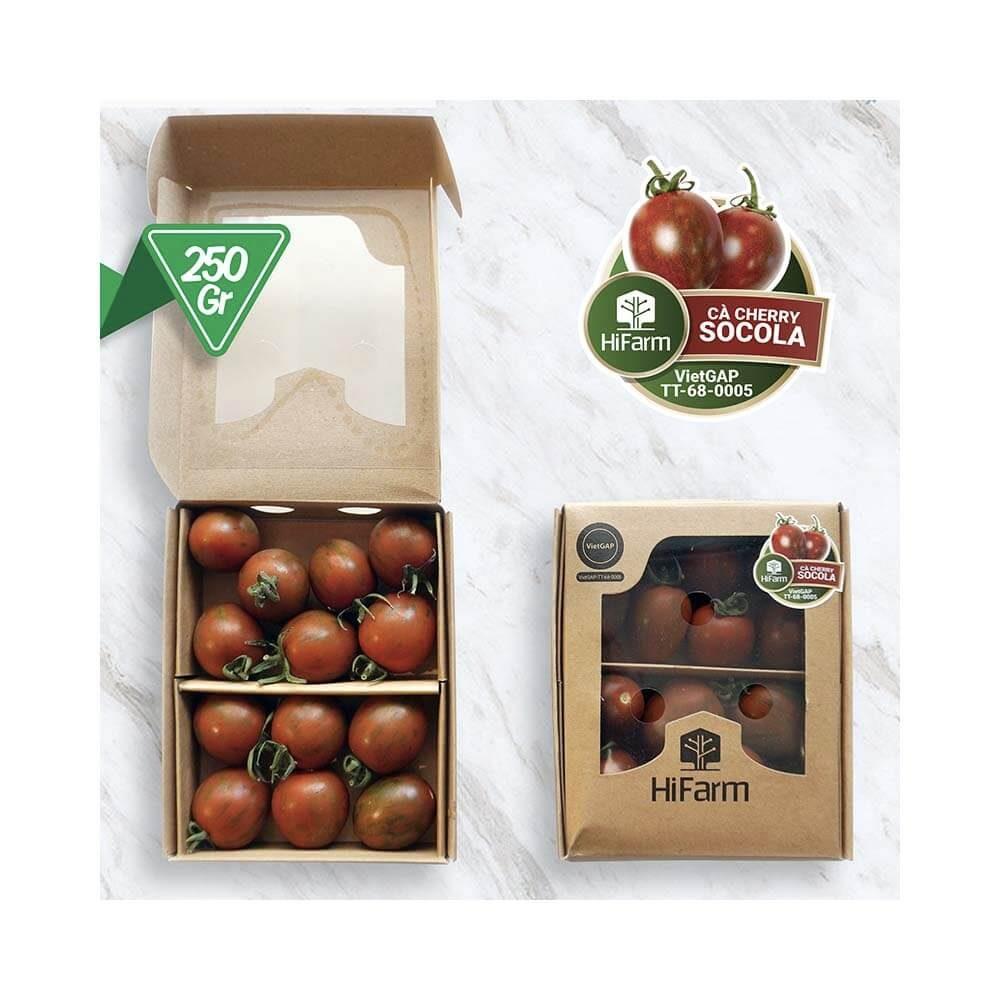 cà chua cherry socola