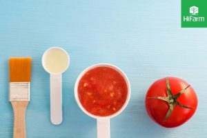 làm trắng da bằng cà chua và sữa
