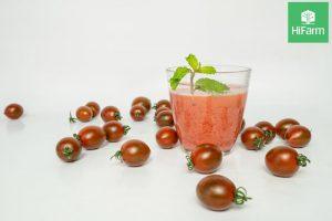 sinh tố cà chua đẹp da