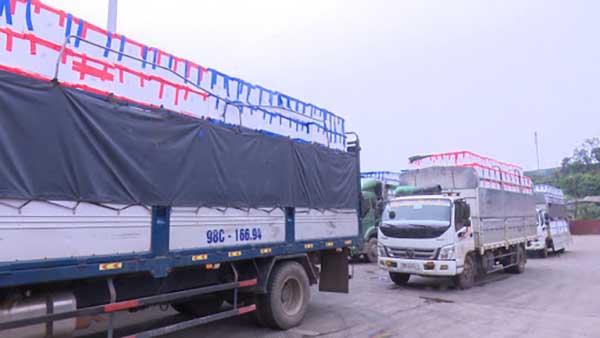 Bắc Giang đề nghị các tỉnh, TP hỗ trợ lưu thông hàng hóa nông sản