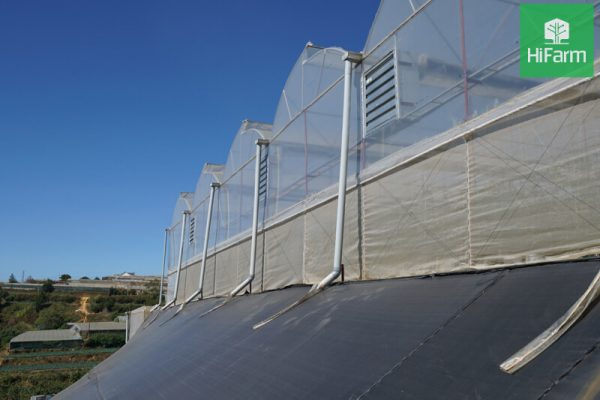 Methods to control the environment in the greenhouse